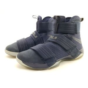 NIKE Lebron Soldier 10 Midnight Navy sz 12